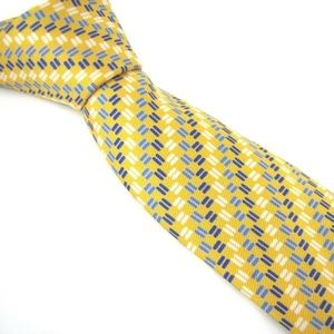 TURNBULL & ASSER Tie Dashes Checks Stripes Twill